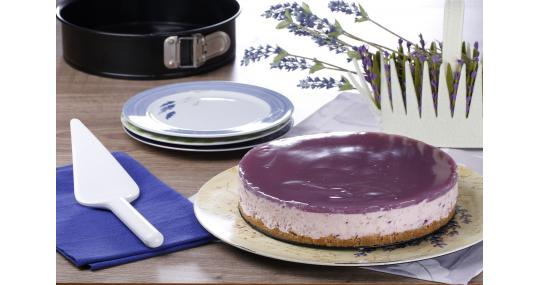 Lavantalı Cheesecake